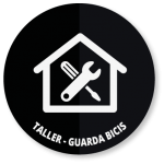 Taller mecánico y guarda bicicletas
